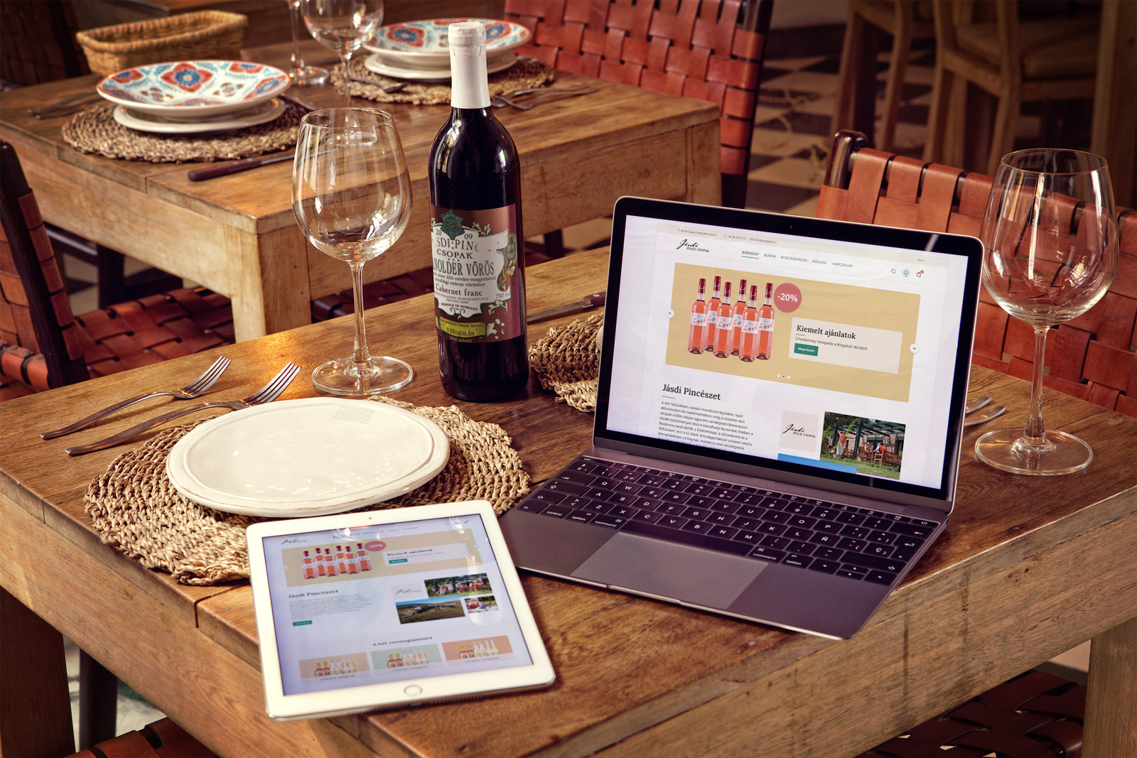 wine-bottle-ipad-air-2-macbook-mockup